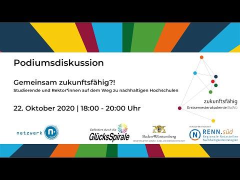 """Podiumsdiskussion """"Zukunftsfähige Hochschulen"""""""